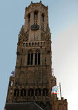 dzwonnica Belgium Brugge Obrazy Stock