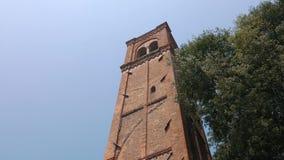 Dzwonnica Di San Domenico Dzwonkowy wierza, Mantua zbiory wideo