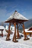 dzwonnica drewniana Obrazy Royalty Free