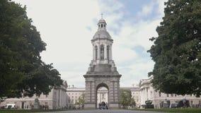 Dzwonnica Dublin trinity college zbiory wideo