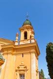 Dzwonnica kościół górska chata cmentarz w Ładnym Zdjęcie Stock