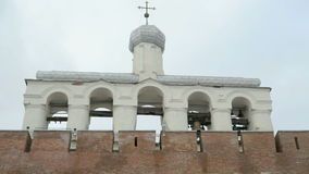 Dzwonnica Novgorod Kremlin, V novgorod Russia zbiory wideo