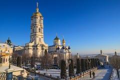 Dzwonnica Pochayiv Lavra, Ukraina zdjęcia royalty free