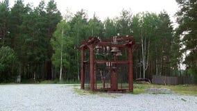 Dzwonnica w monasterze Nowi męczennicy i spowiednicy zdjęcie wideo