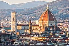dzwonnicy duomo Florence giotto s zdjęcia royalty free
