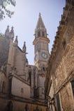 dzwonnicy katedra Manacor Zdjęcie Stock