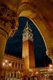 dzwonnicy marco San kwadratowy Venice zdjęcia stock
