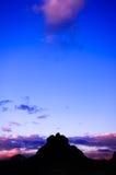 dzwonu chmury skały sedona Fotografia Royalty Free