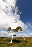 dzwonu krzyż Obrazy Stock