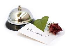 dzwonu srebra powitanie Zdjęcia Royalty Free