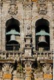 Dzwony katedra, Santiago De Compostela Obrazy Stock