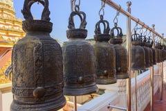 Dzwony w świątyni Zdjęcia Stock