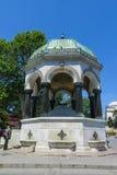 EÅŸmesi del ‡ tedesco di Alman o della fontana à nel ¡ n Ahmed Park di Sultà Istamb Fotografia Stock Libera da Diritti