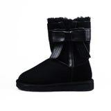 Żeńscy zima buty Obraz Stock