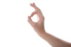 Żeńska ręka Zdjęcie Royalty Free