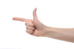 Żeńska ręka Fotografia Stock