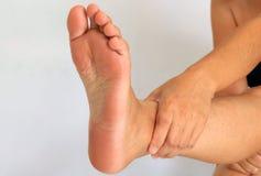 Żeńska stopa i nogi Fotografia Royalty Free