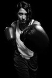 Żeński bokser Fotografia Stock
