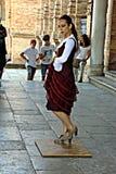 Żeński flamenco tancerz 3 Zdjęcia Stock