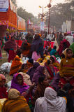 Żeński Hinduski dewotek plotkować Obraz Stock