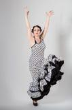 Żeński hiszpański flamenco tancerz Obraz Royalty Free