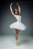 Żeński klasyczny baletniczy tancerz zdjęcie stock