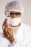 Żeński medyczny fachowy naukowiec Zdjęcia Royalty Free