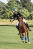 Żeński polo gracz Argentyńska filiżanka dublin Irlandia zdjęcia stock