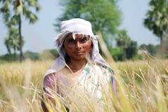 Żeński rolnik Zdjęcia Royalty Free