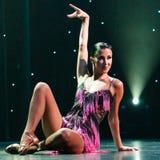 Żeński tancerza pozować Obrazy Stock
