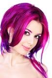 Żeński włosy Zdjęcia Royalty Free