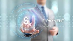 E付款网络购物数字汇款互联网企业概念 皇族释放例证