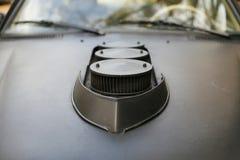 E班德国调整的奔驰车W123细节  免版税图库摄影