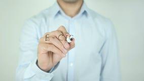 E香烟,写在透明屏幕 股票录像