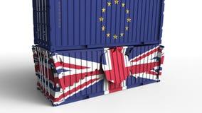 E Εμπορικός πόλεμος ή οικονομικός διανυσματική απεικόνιση