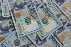 E Αμερικανικά χρήματα δολαρίων δολάρια εκατό λογαριασμών Σύσταση εκατό αμερικανικών δολαρίων τραπεζογραμματίων