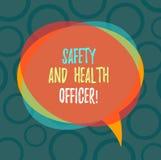 E Ασφαλής εφαρμοσμένη μηχανική βιομηχανικών εργατών ασφάλειας επίδειξης επιχειρησιακών φωτογραφιών διανυσματική απεικόνιση