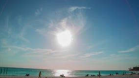 E καραϊβικός Ηλιοβασίλεμα χρονικού σφάλματος απόθεμα βίντεο