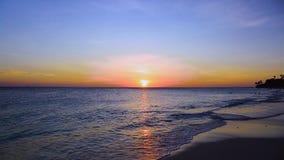 E καραϊβικός όμορφο γίνοντα διάνυσμα φύσης ανασκόπησης απόθεμα βίντεο