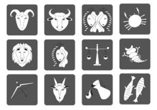 E Τετραγωνικά εικονίδια διάνυσμα ελεύθερη απεικόνιση δικαιώματος