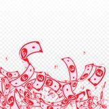 E Грязные счеты GBP на tr иллюстрация вектора