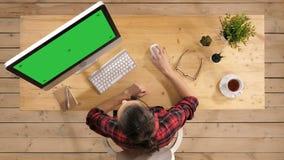 E Зеленый видеоматериал