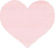 E Красные слова любов Делите его с любовью иллюстрация штока
