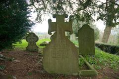 E Место & могильный камень захоронения r o стоковое изображение
