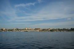 E Нил на Луксоре стоковое изображение