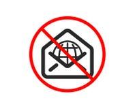 Значок почты сети Знак корреспонденции сообщения r бесплатная иллюстрация