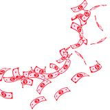 E Плавая счеты GBP дальше иллюстрация вектора