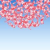 E Плавая счеты GBP дальше бесплатная иллюстрация