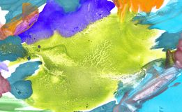E покрашенная предпосылка солнца и облака с пастельным стоковые фотографии rf