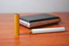 E-сигарета Стоковое Изображение